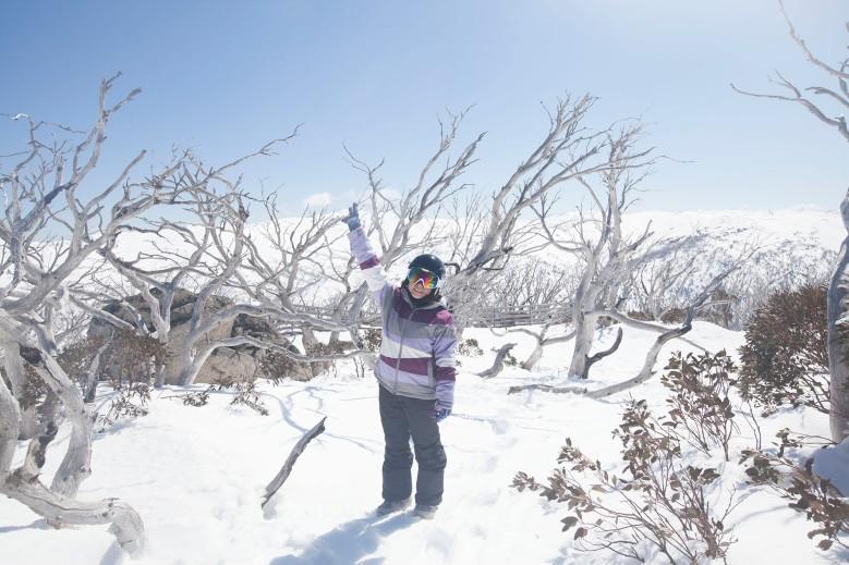 澳洲雪山生活